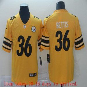 Steelers #36 Jerome Bettis Jersey Inverted